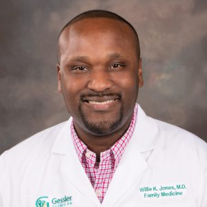 Willie K Jones, M.D.